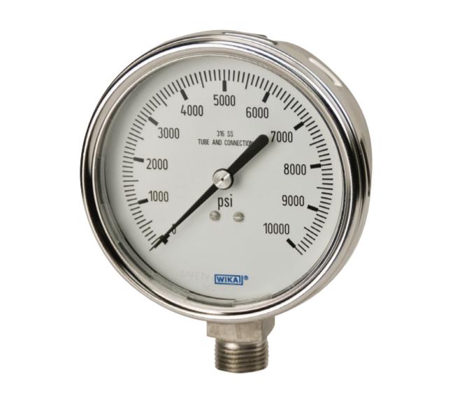 Đồng hồ bơm lốp hiển thị bằng đồng hồ kim