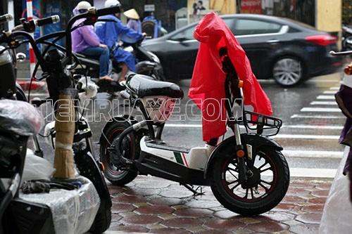 xe đạp điện phát ra tiếng kêu