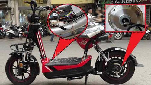 xe đạp điện bị kẹt bánh sau