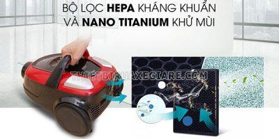 Bộ lọc Hepa máy hút bụi Electrolux