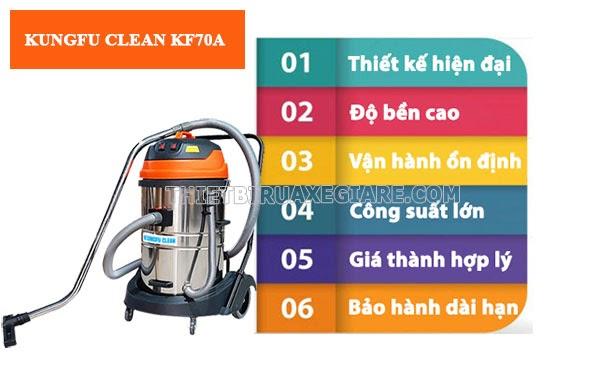 Model KF70A có nhiều ưu điểm nổi bật