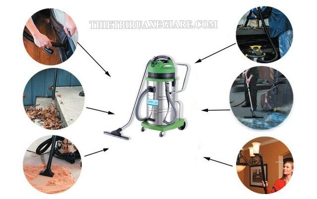 cách lắp đặt máy hút bụi công nghiệp