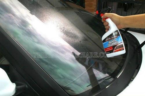giải quyết vết xước kính xe ô tô