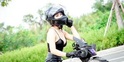 mũ bảo hiểm fullface cho nữ