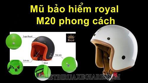 mũ bảo hiểm royal được sử dụng nhiều