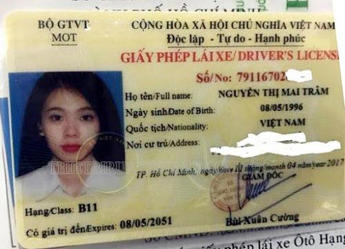 giấy phép lái xe số tự động là loại nào